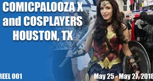 Comicpalooza X and Cosplayers - Reel 001 FT