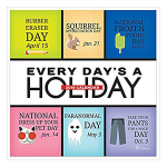 2019 Every Day's A Holiday Daily Desk Calendar