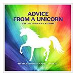 Advice from a Unicorn Daily Desk Calendar