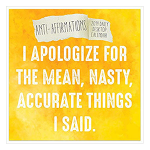 Anti-Affirmations- 2019 Daily Desktop Calendar