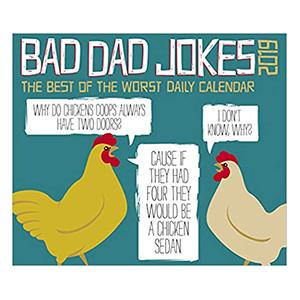 Bad Dad Jokes 2019 Box Calendar