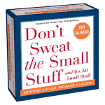 Don't Sweat the Small Stuff 2019 Day-to-Day Calendar