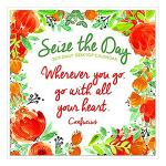 Seize the Day Daily Desk Calendar